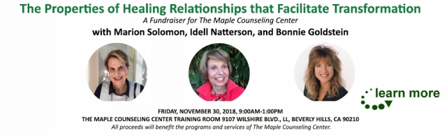 The Properties of Healing Relationships that Facilitate Transformation  11-30-18